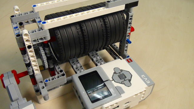 Image for Physics in LEGO Mindstorms Energy Accumulation and Conservation Part 5 Energy added to the system