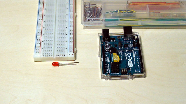 Image for Arduino Basic Course. Download and install Arduino IDE software