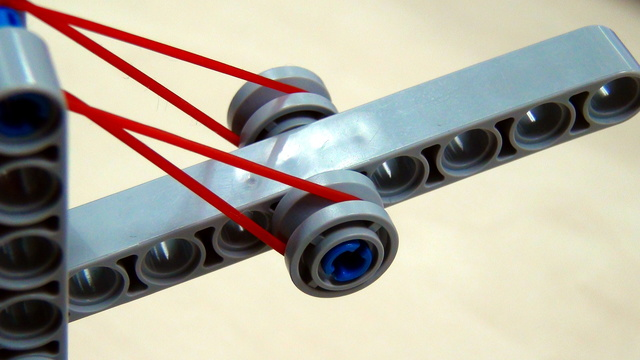 Image for Rubber bands pinless attachment for taking loops