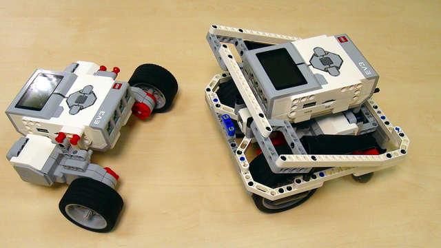 Image for EV3 basics course. Build a robot. Tasks (part2)