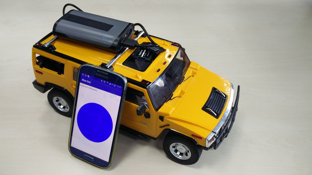 Image for Remote Control Car Robot with Raspberry PI - The perfect STEM course