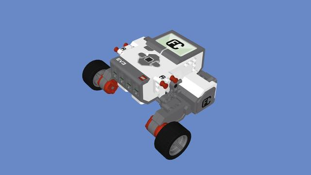 Image for EasyBot build with LEGO Mindstorms EV3