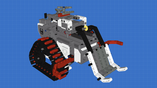 Picture of Space Cleaner - LEGO Mindstorms Robot for cleaning in space