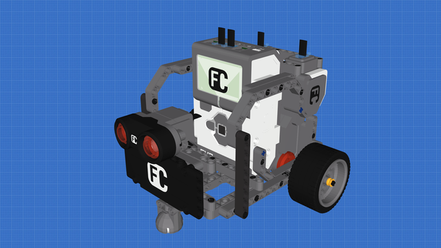 Picture of Space Explorer - LEGO Mindstorms Robot for exploring the space