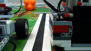 Image for Importance of the construction balance on the LEGO Mindstorms robot movement