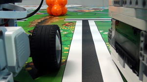 Image for How to use the Integral Part of PID to make the robot move in straight line with Gyro Sensor