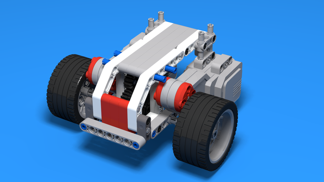 Image for Ugbroid - Modular EV3 LEGO Car - Part 3