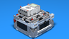 Image for LEGO Box Robot Three With Large Wheels and Thee light sensors and one Gyro