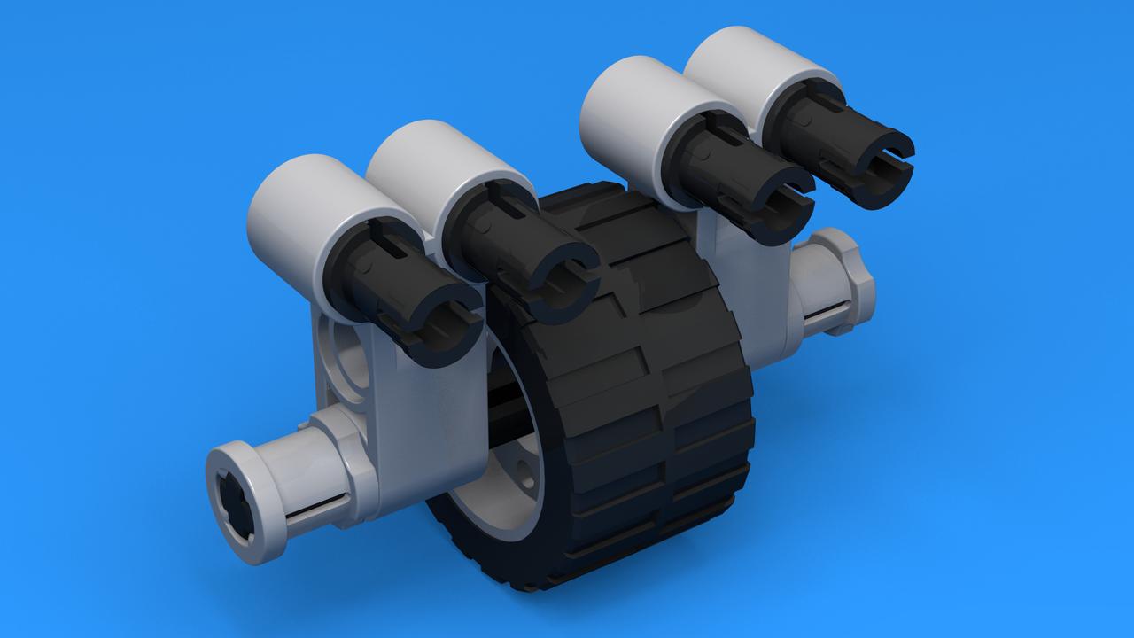 Image for Конструкция за опорно колело 4 за ЛЕГО Mindstorms робот