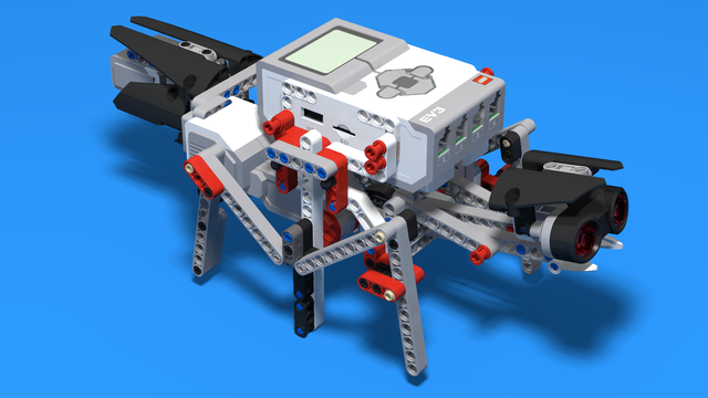 Image for Anty - LEGO Mindstorms Robot that behaves like an ant