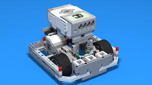 Image for Състезателен робот от EV3 с три сензора за цвят
