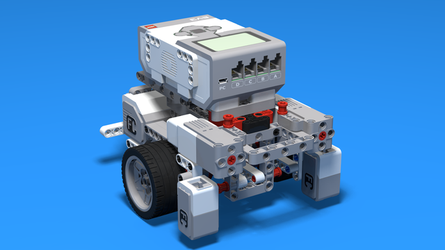 Image for LEGO Mindstrorms EV3 Robot Base with 56mmTiresV1