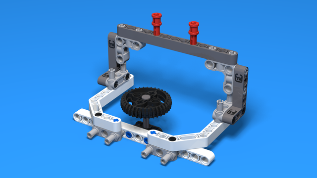 Image for Active attachment for changing gear orientation - part 2