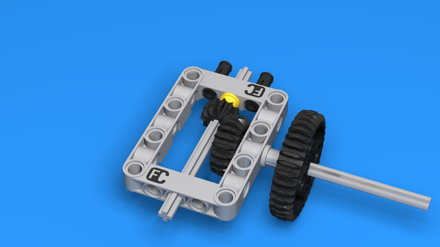 Image for Reusable LEGO Geared Attachment 2