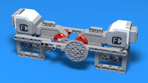Image for LEGO Gear Demonstration model
