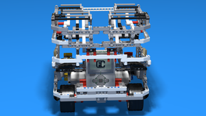Image for WRO Robot with a Ping Pong Balls Collecting Attachment - Full