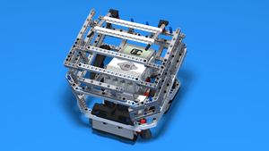 Image for WRO Robot with Large Ball Container