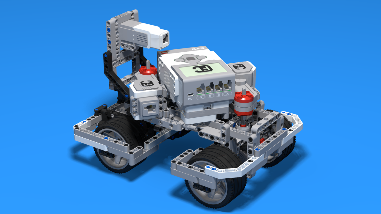 Image for BigDaddy Thrid Motors position - third way to position the LEGO Mindstorms motors