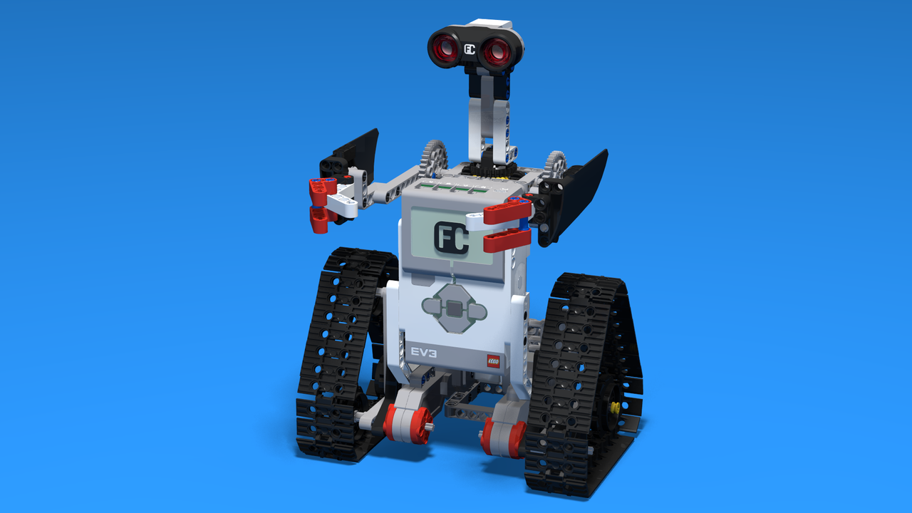 Image for Новият шпионин - LEGO EV3 хуманоид с вериги