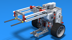 Image for MotoCar Bot. Work with gears and levers. Two magic tricks at once. Robot 5