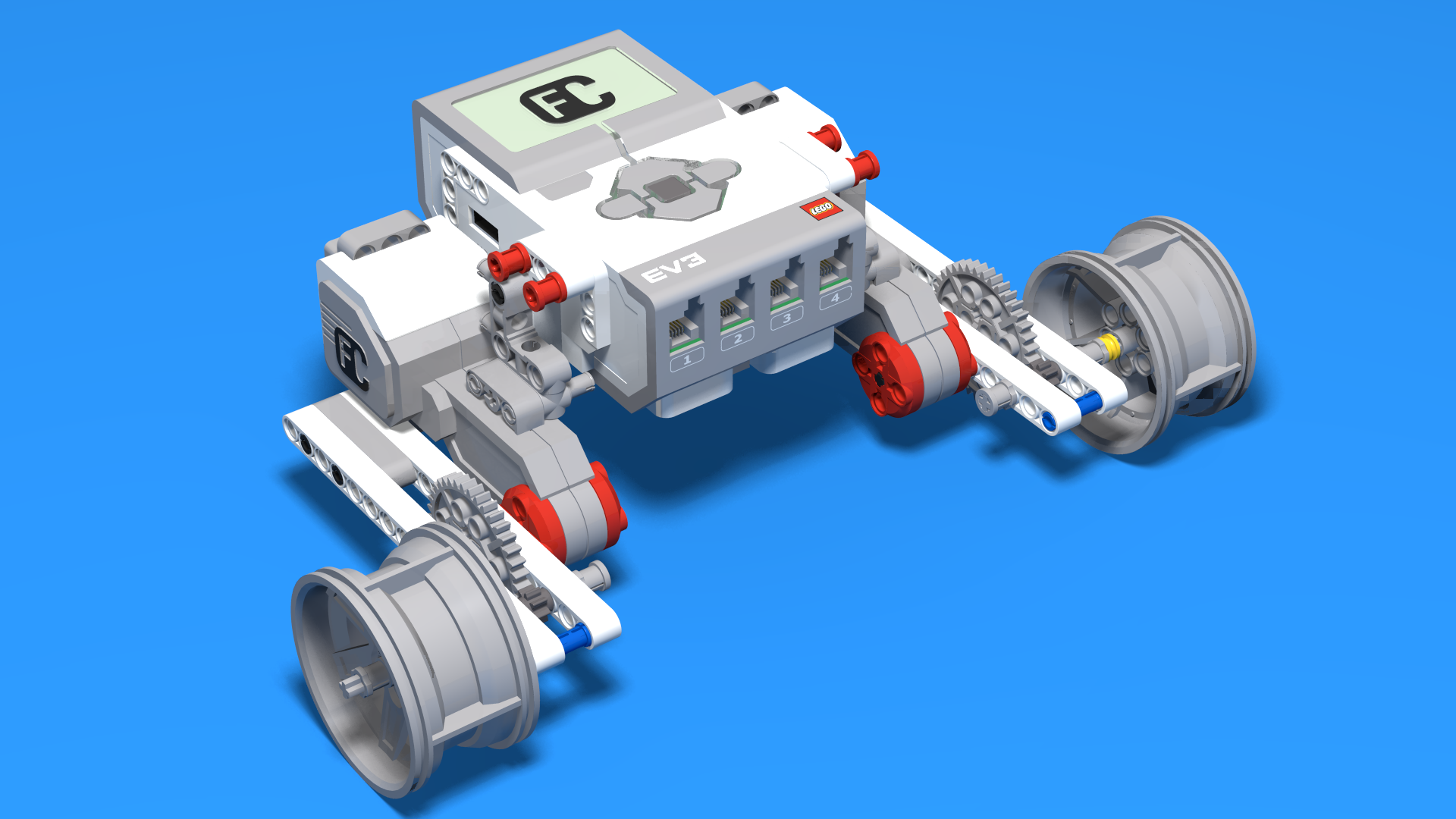 LEGO Mindstorms EV3 Easy Bot V3 Fllcasts