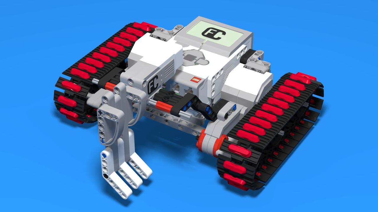 Image for Dotty - LEGO Mindstorms EV3 kicking robot