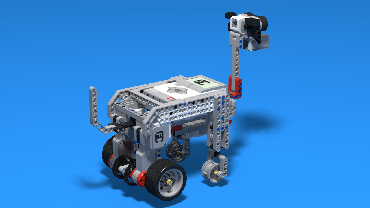 Image for Puppy - a dog-like animal robot built with LEGO Mindstorms EV3
