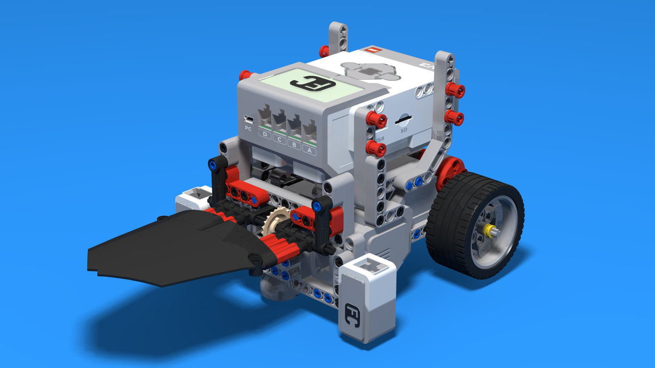 Fllcasts Sumo Competition Robot From Lego Mindstorms Ev3