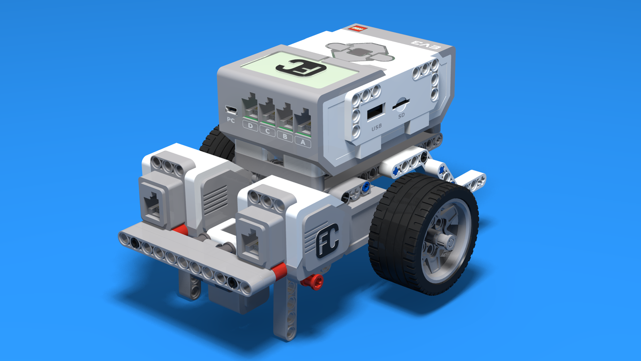 Image for Led - Simple LEGO Mindstorms EV3 Line following robot