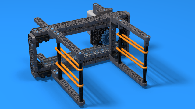 Image for VEX IQ Crossover Single Hex Ball Rack Attachment