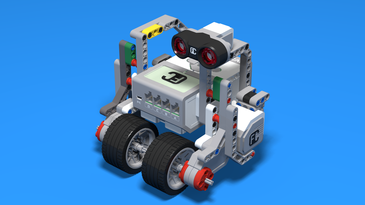 Image for Silver Bot - City Passing LEGO Mindstorms Robot