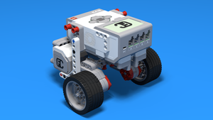 Image for LEGO Mindstorms Castor Bot building instruction