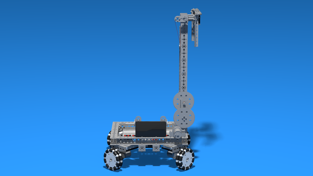 Image for FTC Tetrix four Omni wheel Arm Robot