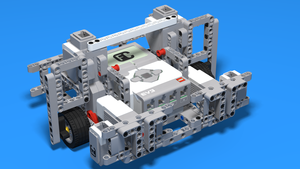 Image for LEGO Mindstrorms EV3 Robot Base Chassis 5 - The Big One