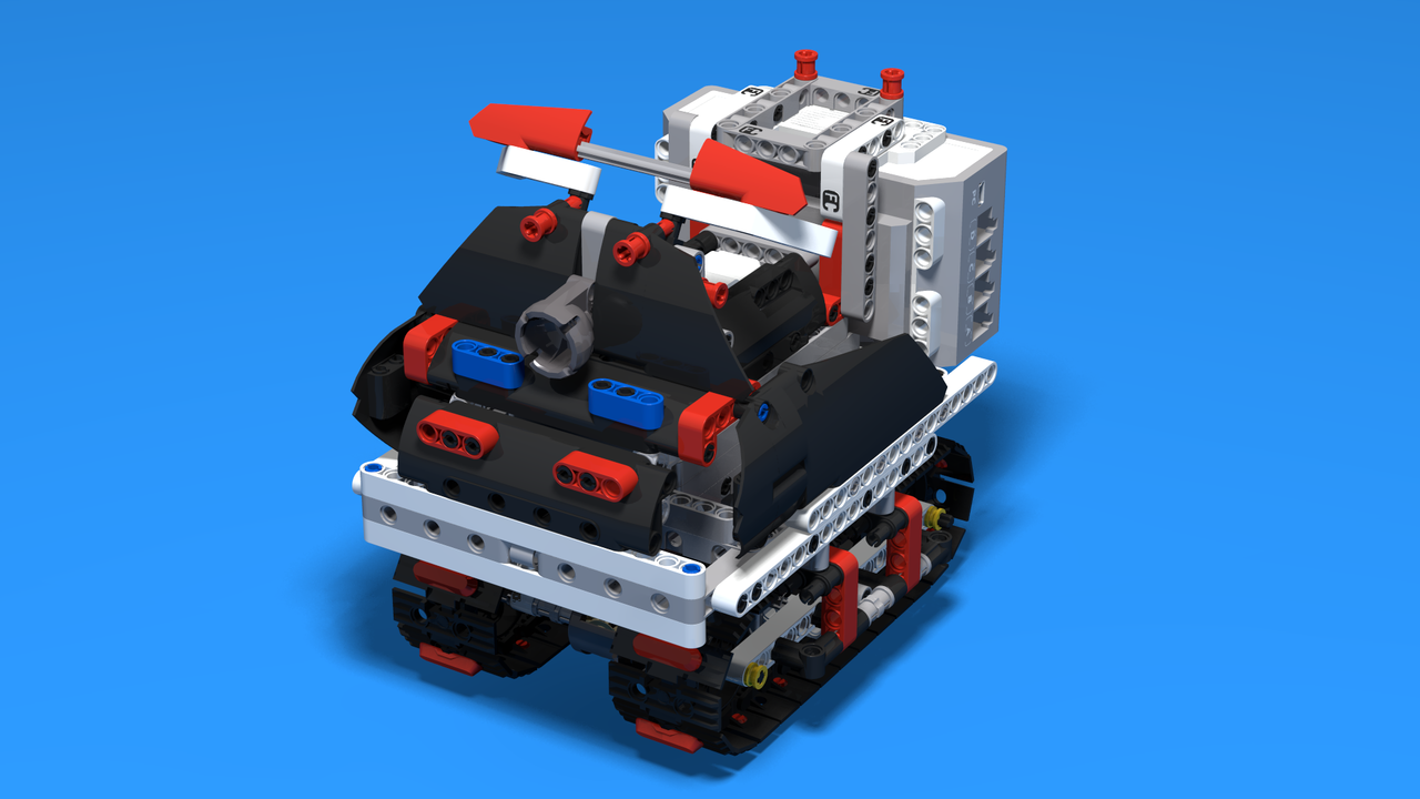 Image for Snowflake - A Snowmobile Vehicle built with LEGO Mindstorms EV3