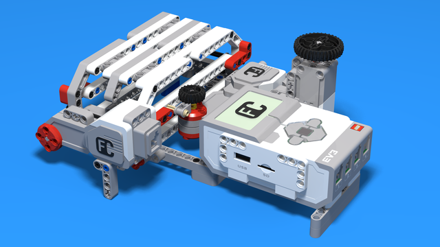 Image for Safe built from LEGO EV3