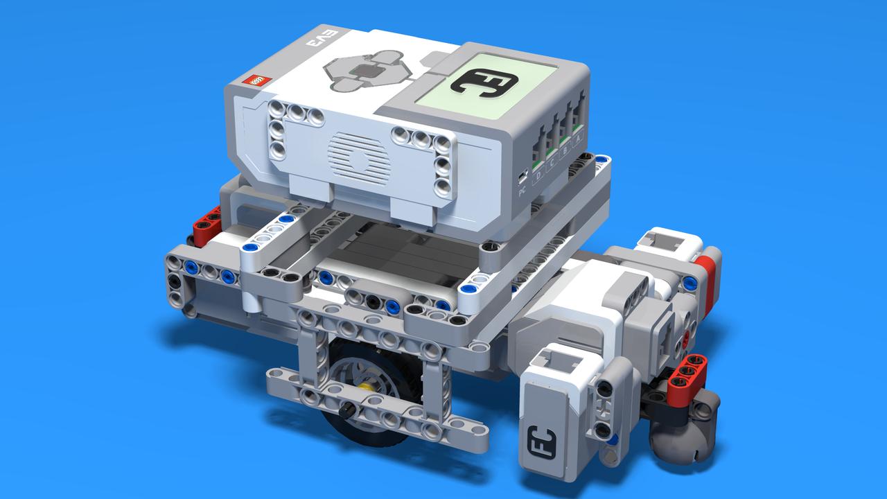 Image for Франкенщайн ЛЕГО робот с противоположни мотори