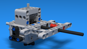 Image for Box Robot Two Attachment with a vertical axle