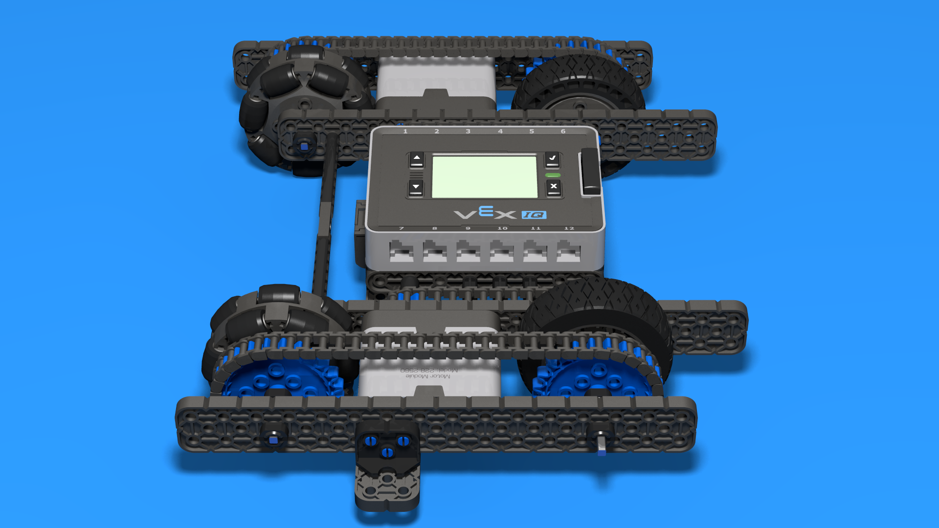 Fllcasts Vex Iq Robot Base Chassis 5