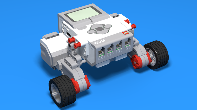 EV3 basics course. Motors control and program from the brick (part3)