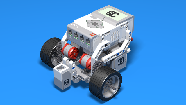 Image for Sterling - a LEGO EV3 line following robot