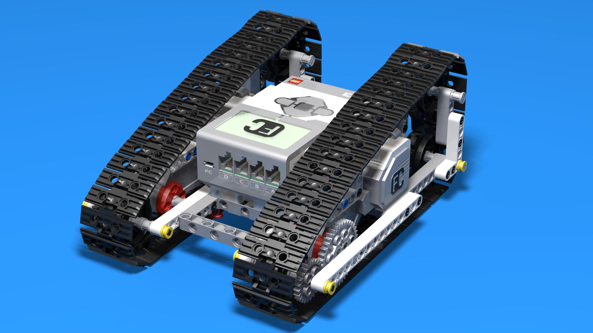 LEGO Mindstorms EV3 Iquzator Ev3 Tank Robot Fllcasts