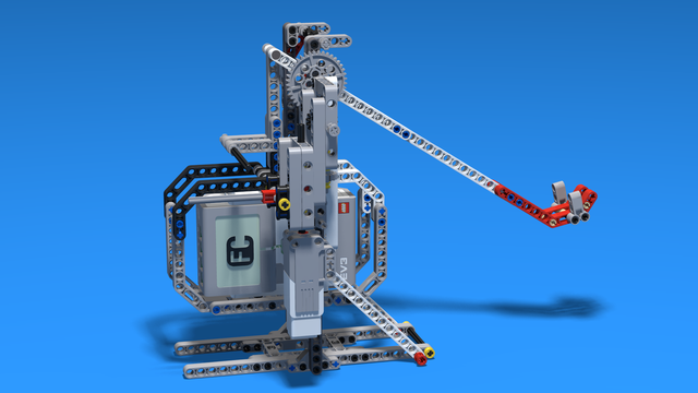 Image for Catapult built from LEGO Mindstorms EV3 - without the bottom base
