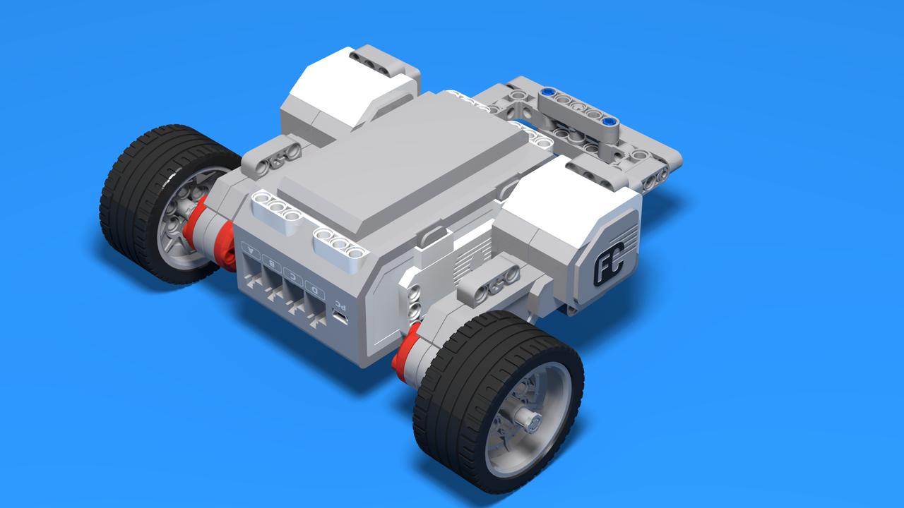 Image for Demogorgon - Upside Down robot with LEGO Mindstorms