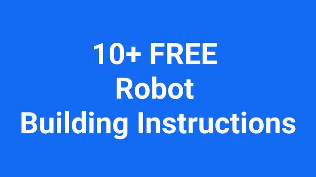 25277e50f5ddd4eaae325a7cce75f70eecdee9affree robot building instructions