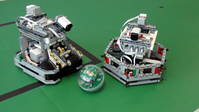 Image for How to play football with LEGO Mindstorms Robots. Introduction