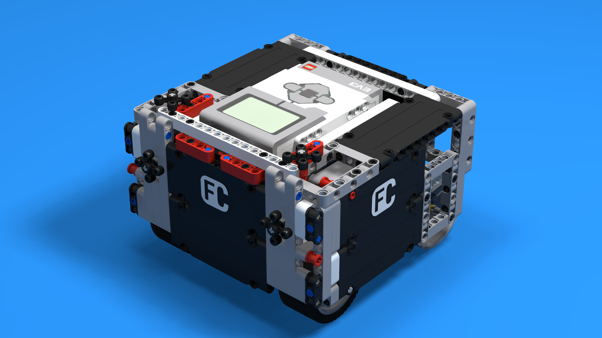 FLLCasts   How to build SUV Box Robot for LEGO Competitions