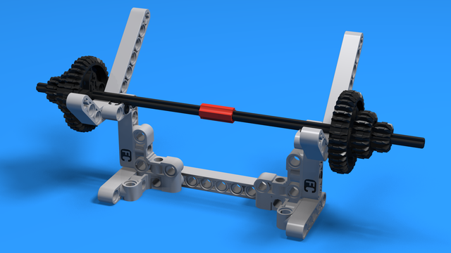 Image for Barbell On a Stand - Example Mission Model