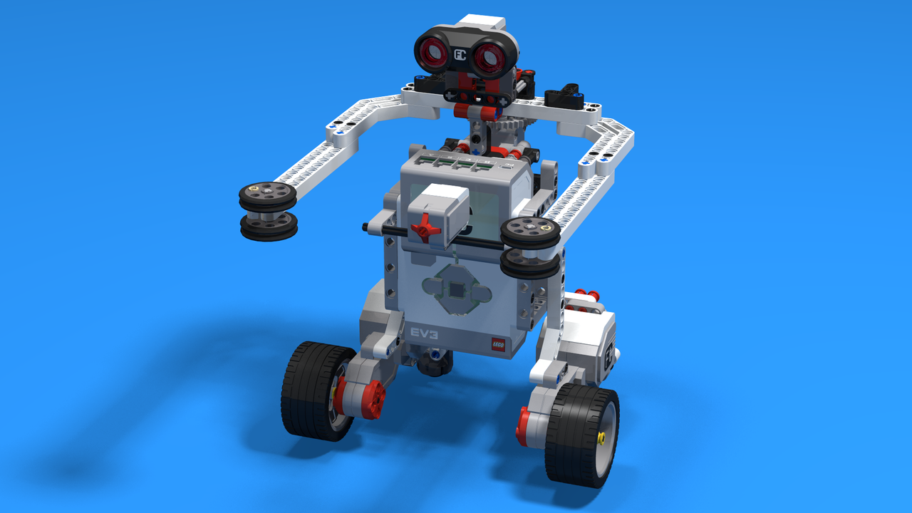 Picture of Real Steel Boxing Robot from LEGO Mindstorms