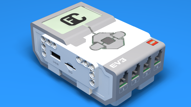 Image for Introduction to EV3 Controller - the LEGO Mindstorms EV3 brick